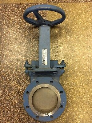 Dezurik 5 Inch Manual Knife Gate Valve