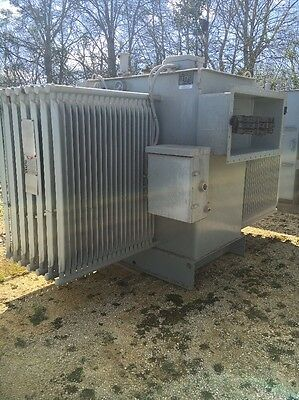 Westinghouse 2500 Kva 13800 Primary 480 Delta Secondary Substation Transformer