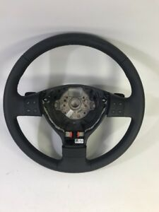 New OEM VW MK5 Golf Jetta Anthracite Leather Paddle Shift DSG Steering Wheel