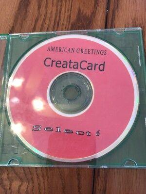 American Greetings Creata Card Select 6 Ships N 24H