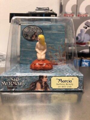 SLO MERMAID CO BISQUE BATHING BEAUTY FISH TANK FIGURINE NIB MARCIA ON covid 19 (Mermaid Aquarium Ornament coronavirus)