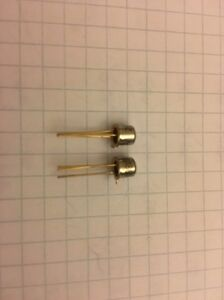 2x-Transistor-2N3504-PNP-45V-300mA-TO18-Semiconductor-Transistoren-NOS
