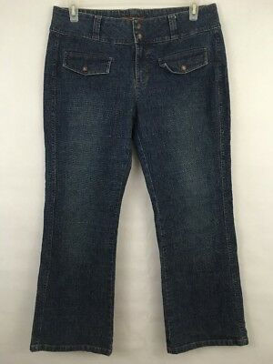 *CLEARANCE* Lee Jeans One True Fit Button Pockets Medium Wash Size 11/12 Petite