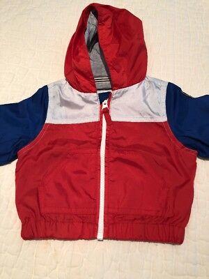 Petit Bateau Kids Anorak Jacket Size 3 Months Boys