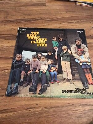 THE BEST OF THE DAVE CLARK FIVE LP - EMI STARLINE REGAL - SRS (Best Of Dave Clark Five)