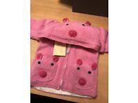 Girl's wool cardigan