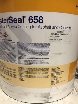 Masterseal 658 Slip Reaistant Acrylic Coating For Asphalt Concrete Neutral B12
