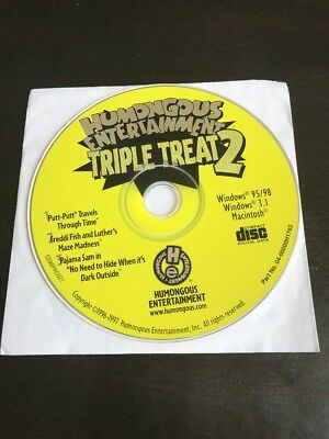 Humongous Entertainment: Triple Treat 2: Putt Putt, Freddi Fish, Pajama Sam