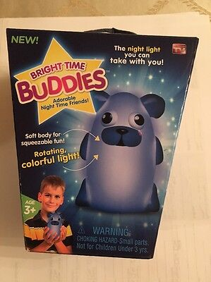 Adorable Night Light For Your Kids Bedroom -Bright Time Buddies - Dog