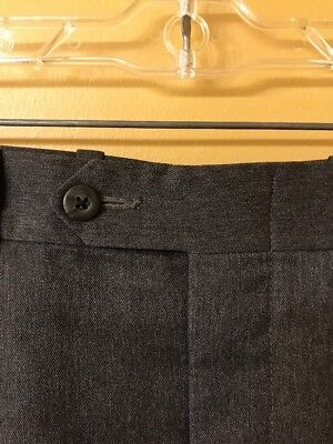 NORDSTROM By JB BRITCHES Men's 100% Wool Pleated Pants USA Made 35x30. 02020709