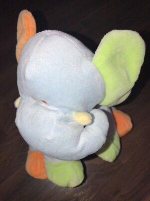 KG Bieco Elefant Dumbo Kuscheltier Plüschtier Stofftier Grün Blau Orange Baby On