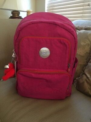 KIPLING Laptop Backpack Goddard Very Berry Bag Brand New With Tag $134