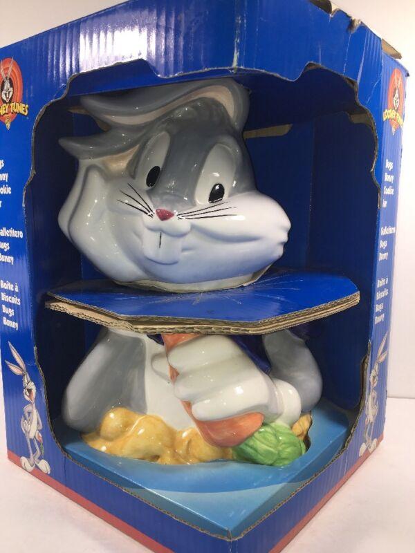 VINTAGE 1993 Looney Tunes Bugs Bunny Cookie Jar new In Box