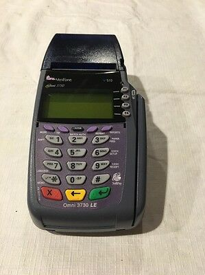 Verifone Vx510 Omni 3730 Le Credit Card Terminal Machine Asis Untested
