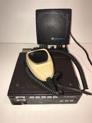 Motorola Astro Spectra W-5 Vhf 146 - 174 Mhz 50 Watt Radio - Complete Setup