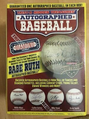 "BRAND NEW! Tristar Hidden Treasures Autographed Baseball Series 9 ""Ship Today"""