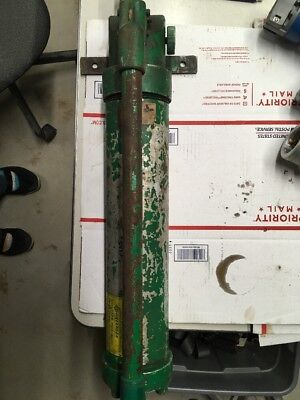 Nice Greenlee 1726 Hydraulic Hand Pump 1725 755 915 5435