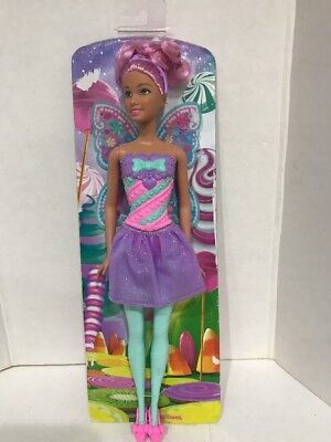 Barbie Dreamtopia Rainbow Cove Princess Doll Butterfly Brand New