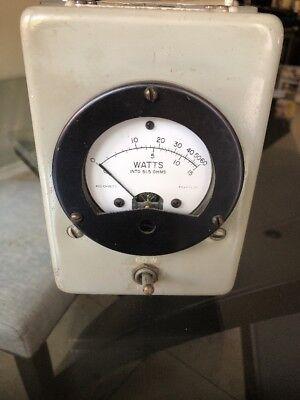 R.f. Watt Meter Model Me-11bu As Is