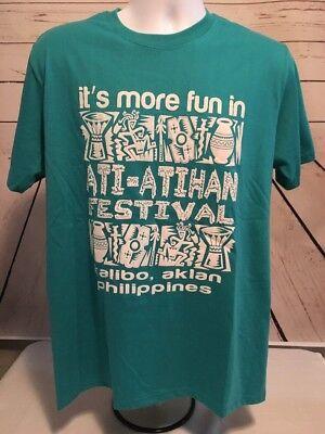 Philippines - graphic tshirt - ATI-ATIHAN Festival - Kalibo, Aklan XL - FUN