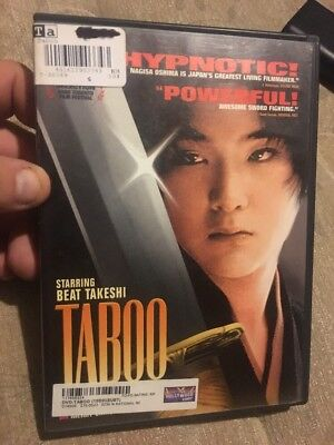 taboo dvd for sale  Shipping to Canada