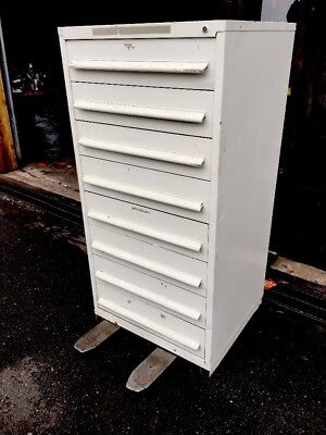 Nu-era Tool Cabinet 8 Drawer Nice Condition