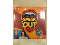 SPEAK OUT GAME TO HAND HASBRO, NEW SEALED BOXED! SOLD OUT EVERYWHERE!