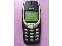 Classic Nokia 3310 Unlocked Mobile Phone