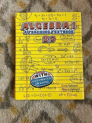 Teaching Textbooks Algebra 1 (2.0 Version) Self Grading CDs Only