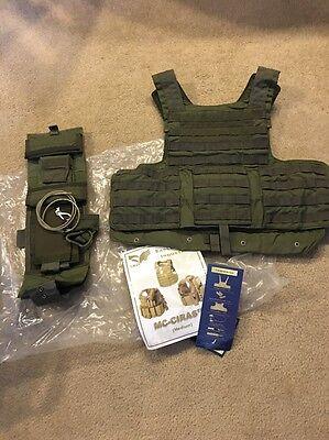 Eagle Industries Land CIRAS Vest Ranger Fresh LE  Med FBI DEA RLCS Rangers
