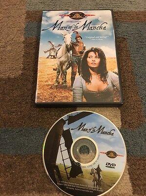 Man of La Mancha DVD Sophia Loren & Peter O'Toole RARE &