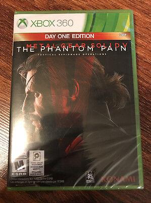 Metal Gear Solid V: The Phantom Pain -- Day One Edition (Microsoft Xbox 360,...