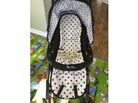 Silver cross 3 in 1 travel system Bundle - Ventura pushchair, car seat Basinett , Baby Bag