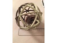 Trapped Mouse Ball, Fury Cat Toy, With Squeaking Realmouse Sound . used