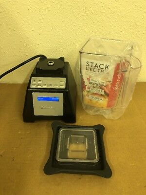 Blendtec Total Blender Black W/ 90oz Wildside Jar, Lid Used