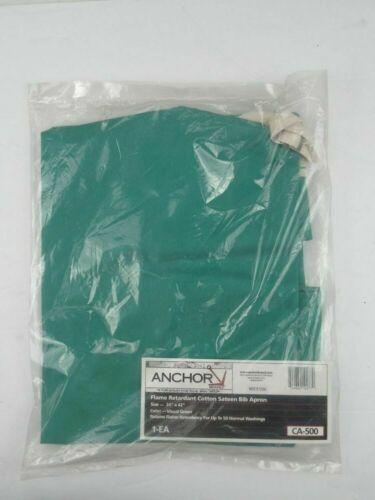 Flame Retardant Cotton Sateen Bid Apron - Anchor Brand CA-500