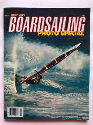 Breakout's Boardsailing Photo Special Fall 1984  Great 80s Surfer Ads