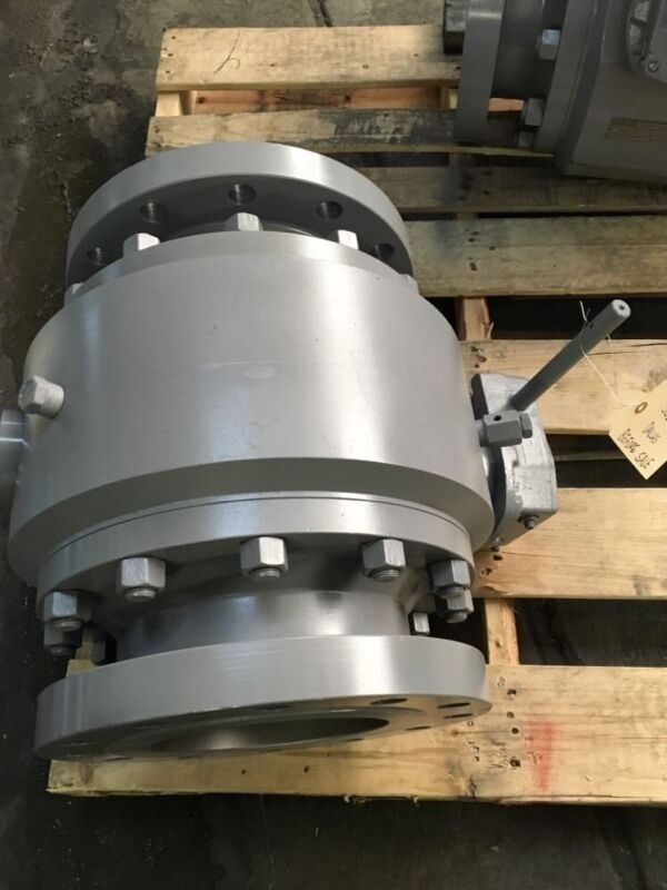 """Ball Valve Flow Control Technologies 8"""" 300 Flanged Gear Operated"""
