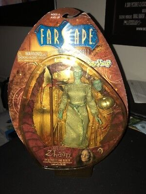 Farscape PA'V Zotoh Zhaan Series 1 action figure by Toy Vault Limited Edition
