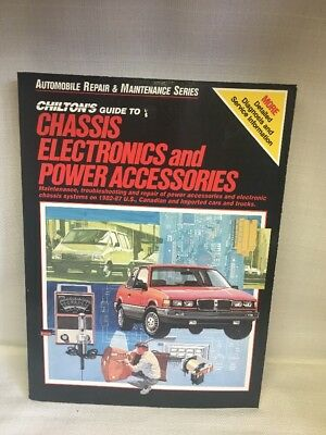 (B3) 1982-87 Chiltons Electronics Power Accessories DOMESTIC IMPORTED CAR/TRUCK