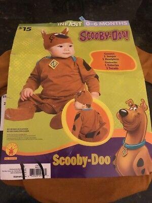Halloween Scooby-Doo Costume 0-6 Months Infant - Baby Scooby Doo Costume
