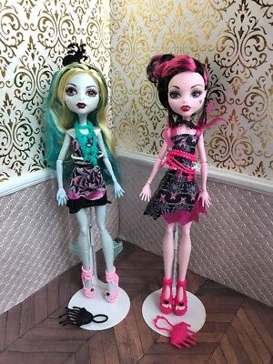 Frights Camera Action Hauntlywood Lagoona Blue Draculaura Monster High Doll Lot