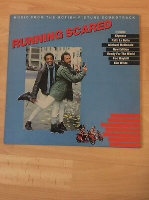 RUNNING SCARED soundtrack MCG 6012 uk mca 1986 LP