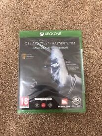 XBOX ONE SHADOW OF MORDOR GAME OF THE YEAR EDITION BRAND NEW SEALED