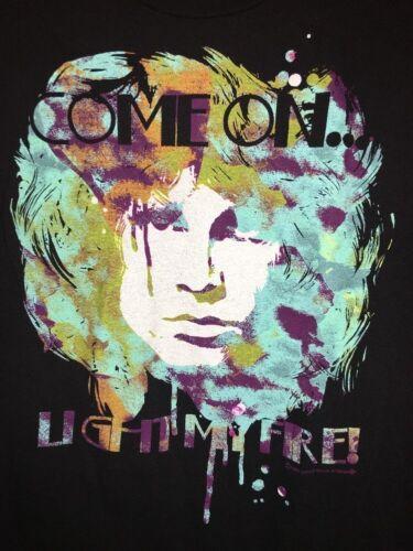 AWESOME !!!  Jim Morrison - The Doors - T Shirt Adult Medium M - Light My Fire