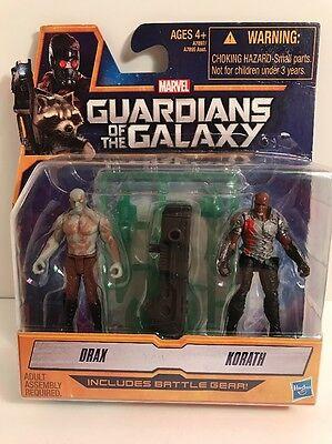 Guardians Of The Galaxy Drax & Korath Figurines - New Sealed (Drax Guardians Of The Galaxy)