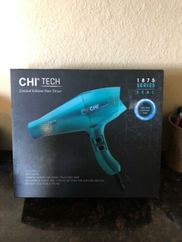 CHI Tech Limited Edition Hair Dryer 1875 Series-Teal