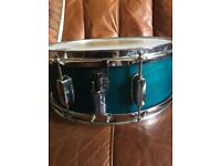 "Mapex M Series Snare Drum - 5.5"" x 14"" - Transparent Emerald Lacquer Finish"