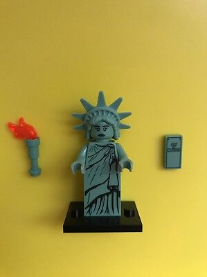 New Lego 8827 Collectible Minifigure Series 6 Lady Liberty Statue Of Liberty Nyc