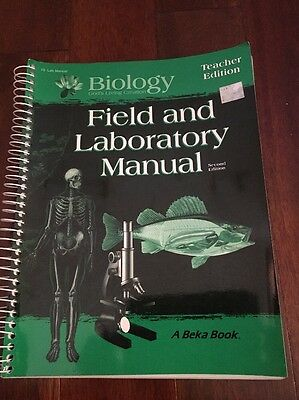 ABeka Biology Field And Laboratory Manual (2nd Ed) Teacher Edition Grade 10, used for sale  Dover